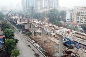 Hà Nội: Phân luồng giao thông phục thi công lắp đặt dầm U trên đường Kim Mã