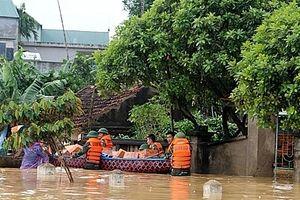 Hà Nội: Sẵn sàng ứng phó với các tình huống khi có mưa, lũ, ngập úng nhiều ngày