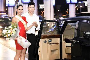Miss Global 2017 gợi cảm tới Việt Nam, tình tứ bên nam vương Ngọc Tình