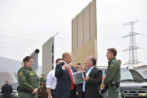 'Con tin' Chính phủ của Tổng thống Donald Trump cho bức tường biên giới Mỹ - Mexico