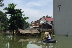Về 'rốn lũ' của huyện Chương Mỹ, Hà Nội: Nơi tình người ấm áp