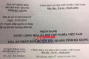 Vụ con đường không phép trên đất được cấp sổ đỏ ở Hà Giang: 'Ông nói gà, bà nói vịt'