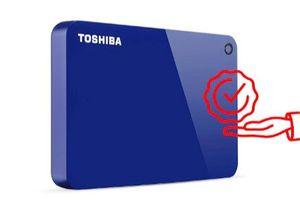 Canvio Advance, ổ cứng di động bảo mật cao của Toshiba