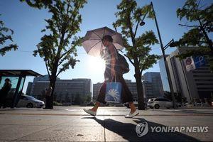 Hàn Quốc nắng nóng đỉnh điểm