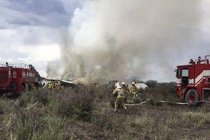 Rơi máy bay tại Mexico: Không ai thiệt mạng