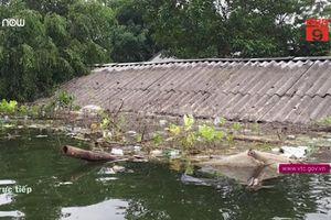 2 chị em chết đuối thương tâm ở rốn ngập Chương Mỹ, Hà Nội