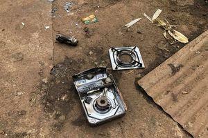 Nổ bình gas mini, 2 học sinh bị thương nặng