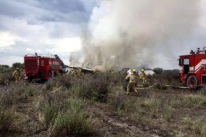 Máy bay chở 97 hành khách bị rơi tại Mexico