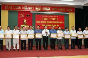 Thái Nguyên: 10 năm thực hiện Nghị quyết TW 7 về nông nghiệp, nông dân, nông thôn