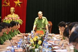 Thứ trưởng Lê Quý Vương làm việc với Cục Cảnh sát PCCC và CNCH
