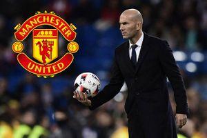 Chưa 'trảm' Mourinho, M.U đã nhắm Zidane thay thế