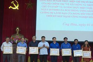 Huyện Ứng Hòa nghiêm túc thực hiện quy chế dân chủ ở cơ sở