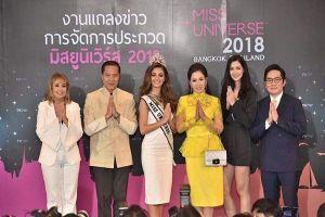 Thái Lan được chọn làm nơi đăng cai Hoa hậu Hoàn vũ 2018