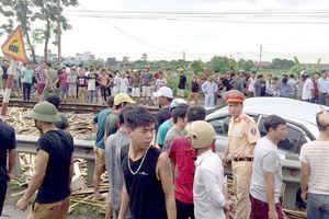 Lại xảy ra tại nạn đường sắt nghiêm trọng khiến 4 người thương vong