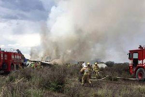 Vừa cất cánh, máy bay chở 101 người rơi ở Mexico