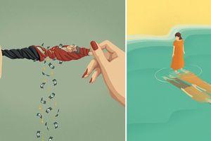 25 tranh biếm họa phản ánh chân thực xã hội hiện đại ngày nay, bạn có thấy chính mình trong đó?