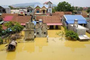 Mực nước ở sông Bùi tiếp tục dâng cao