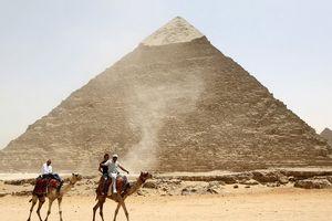 Bí ẩn năng lượng điện từ ở Đại kim tự tháp Giza