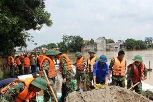 Quân đội tích cực trong phòng, chống và khắc phục hậu quả mưa lũ