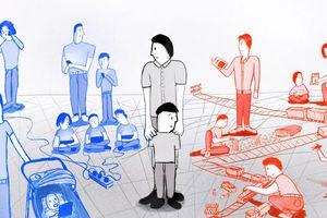 Dạy con thời công nghệ: Cuộc cãi vã không hồi kết của cha mẹ