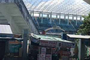 Sân vận động Chi Lăng tan hoang sau 8 năm lọt vào tay doanh nghiệp