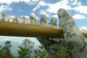 Cầu Vàng Đà Nẵng đang gây bão mạng quốc tế được xây dựng thế nào?