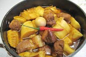 Cách làm thịt kho măng đậm đà ngon cơm