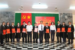 TAND tỉnh An Giang trao quyết định bổ nhiệm Thẩm phán