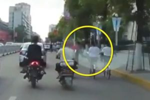 Clip nữ sinh té xe vì bị trẻ trâu vỗ mông, kẻ ác chặt sạch vườn nhãn trồng 4 năm
