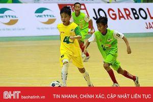 5 cầu thủ Hà Tĩnh cùng SLNA bảo vệ thành công ngôi vô địch U11 Quốc gia