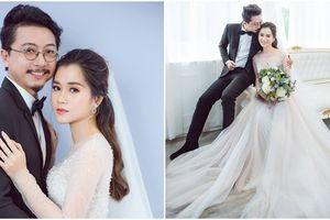 Sau màn cầu hôn lãng mạn, Lâm Vỹ Dạ - Hứa Minh Đạt 'cưới lại từ đầu' sau 8 năm về chung một nhà