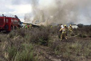 Hé lộ nguyên nhân vụ máy bay Mexico gặp nạn