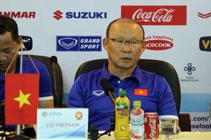 HLV Park Hang Seo: Olympic Việt Nam không 'dạo chơi' ở giải Tứ hùng