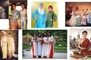 Độc đáo trang phục truyền thống của phụ nữ Đông Nam Á