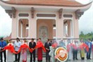 Khánh thành Khu sinh hoạt truyền thống Thanh thiếu nhi Nước Oa