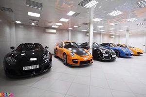 Choáng ngợp gara toàn xe cổ siêu hiếm của đại gia Dubai