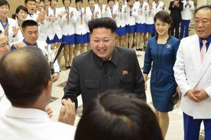 Ông Kim Jong-un mở tiệc đón vận động viên huy chương vàng ASIAD 17