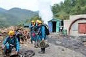 Cháy lò than ở Quảng Ninh có thể do khí metan