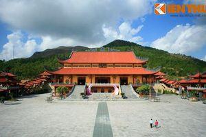 Ngỡ ngàng ngắm ngôi chùa có chính điện lớn nhất Việt Nam