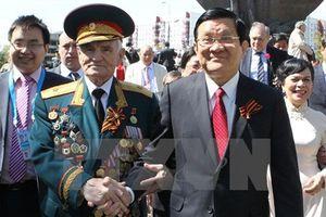 Chủ tịch Trương Tấn Sang nhấn mạnh ý nghĩa của Ngày Chiến thắng