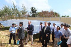 Khánh thành dự án điện mặt trời tại Côn Đảo