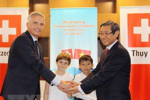 Khai trương Tổng Lãnh sự quán Thụy Sĩ tại Thành phố Hồ Chí Minh