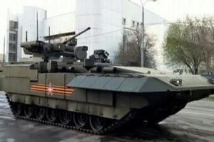 Thông số chính thức xe chiến đấu BB T-15 Armata Nga