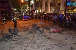 Thái Lan chấn động bởi vụ nổ bom tại Thủ đô Băng Cốc