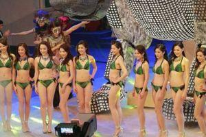 Dàn người đẹp khoe sắc với bikini tại vòng chung kết Miss Hong Kong