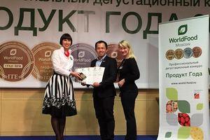 TH true MILK đoạt 3 giải Vàng tại triển lãm thực phẩm thế giới