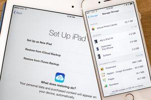 Cách sao lưu và xóa bỏ dữ liệu trên iPhone