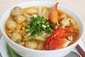 Các món cua biển được yêu thích ở Sài Gòn