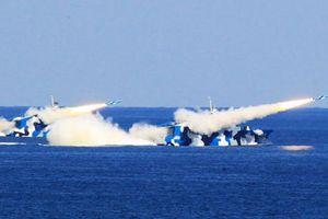 Tàu chiến Type 022 Trung Quốc có thể 'đánh chìm' TSB Mỹ?
