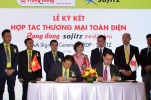 Nhựa Rạng Đông hợp tác thương mại toàn diện với Sojitz Nhật Bản